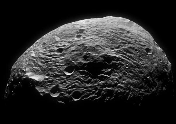 Photograph of Vesta by the Dawn spacecraft.