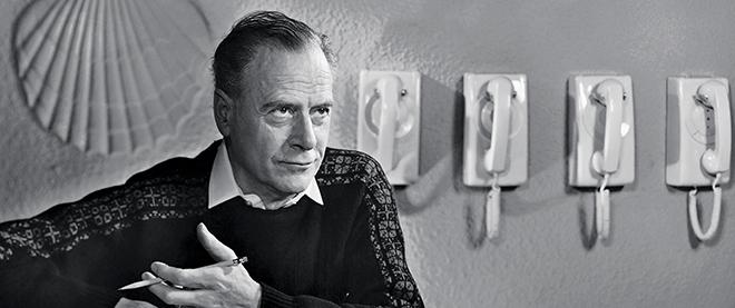 Marshall McLuhan, circa unknown.