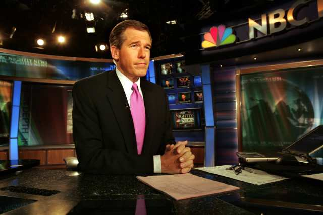 TV is too glamorous for its own good -- Brian Williams, managing editor and anchor of NBC Nightly News.