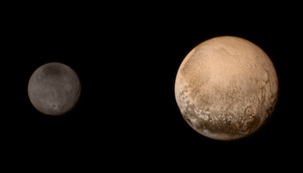New Horizons Passes Pluto and Charon Image Credit & Copyright: NASA, Johns Hopkins Univ./APL, Southwest Research Inst.