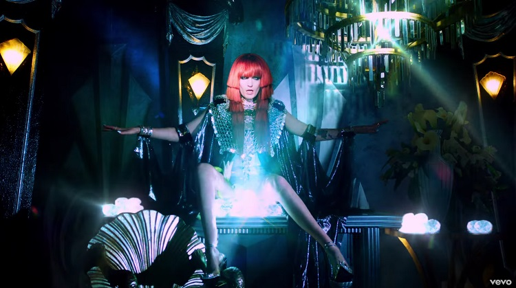 Still from the Florence + The Machine music video for Spectrum